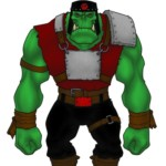 Thor's Workbench: Repainting Orks
