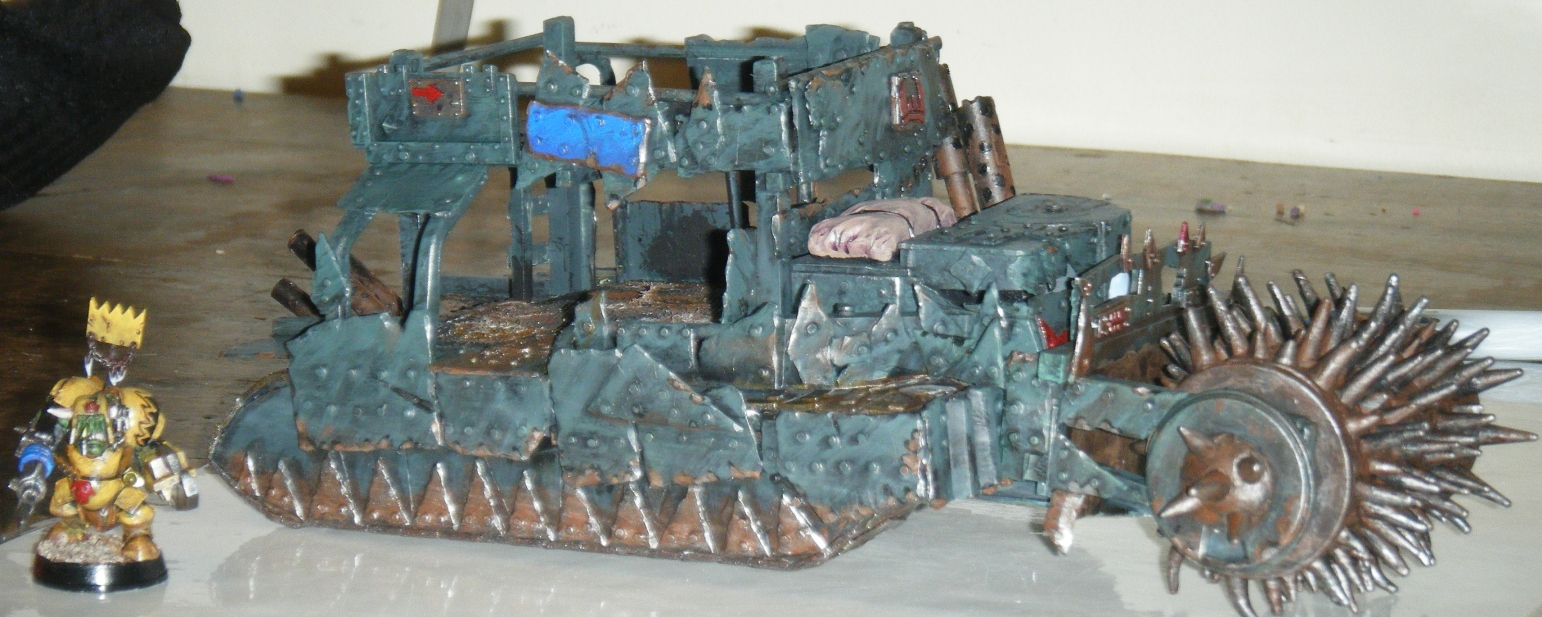 Scratch Building: Battlewagon