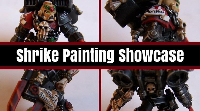 Shrike Painting Showcase