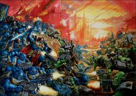 Marines vs Orks