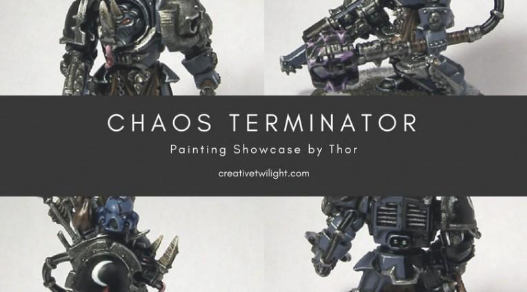 Chaos Terminator Painting