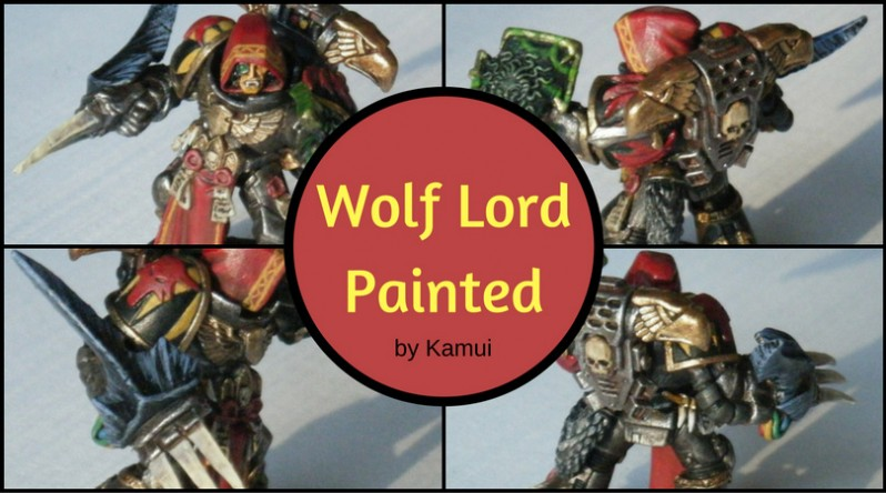 Wolf Lord Painted