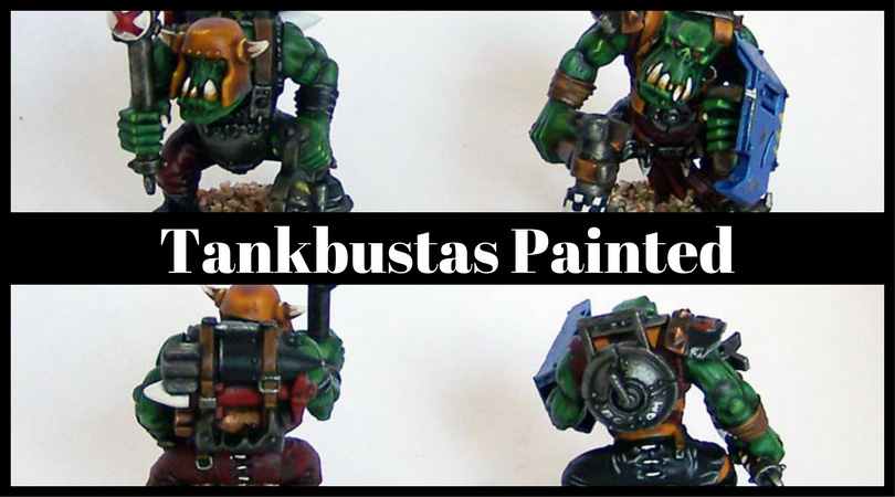 Tankbustas Painted
