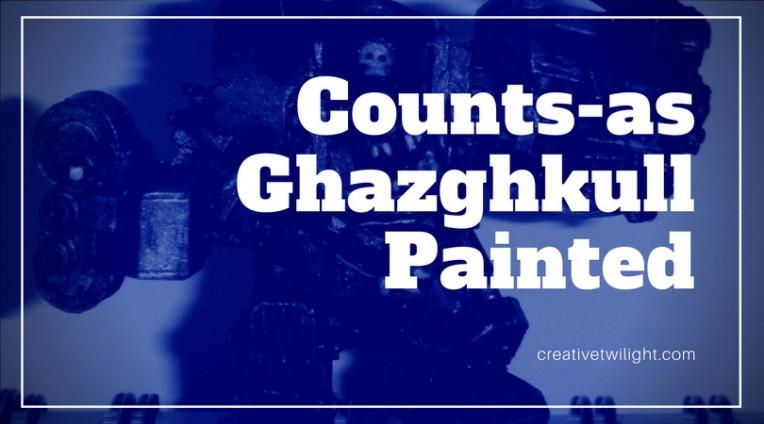 Ghazghkull Painted