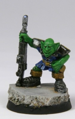Grot with lasgun