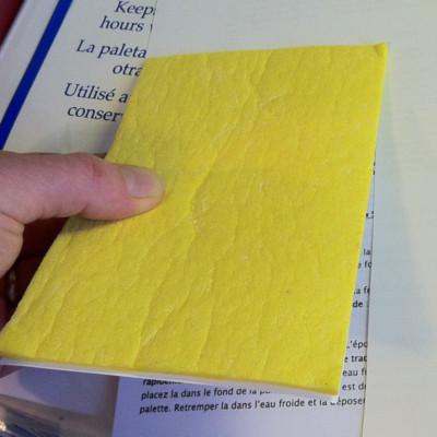 Wet Palette: Sheet Cut