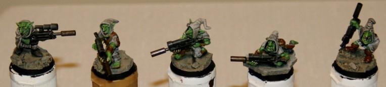 Rebel Grots Snipers
