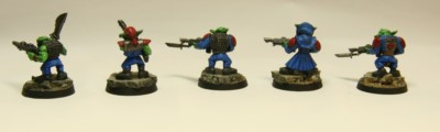 Veterans - Lasguns #3