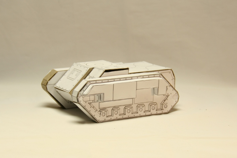 Scratch Building: Tank