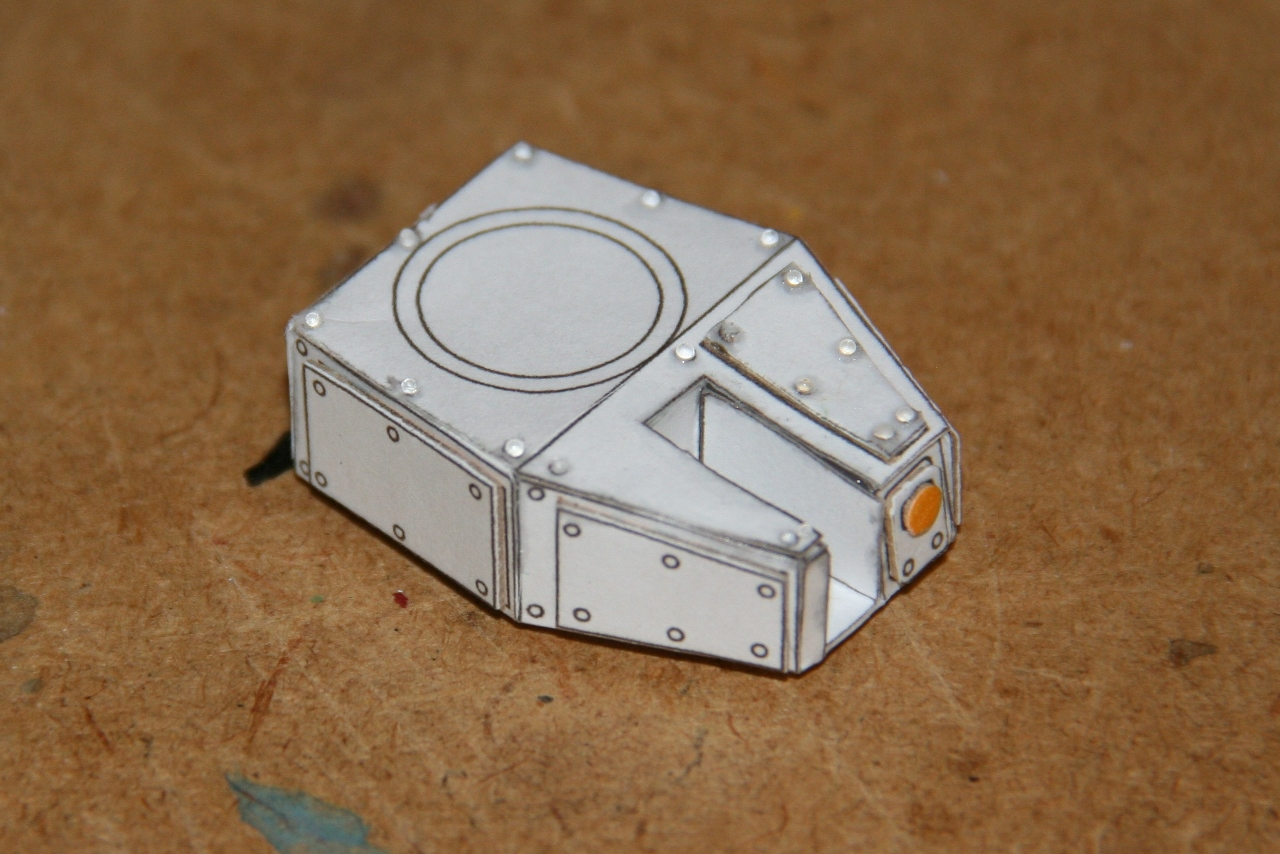 Riveted turret