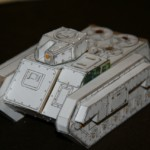 Scratch Building Tanks Tutorial #3:  Turret, Armor Plates, and Rivets