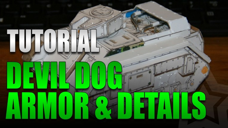 DIY Devil Dog Armor