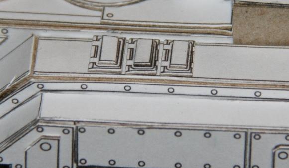 Papercraft Tank Tracks