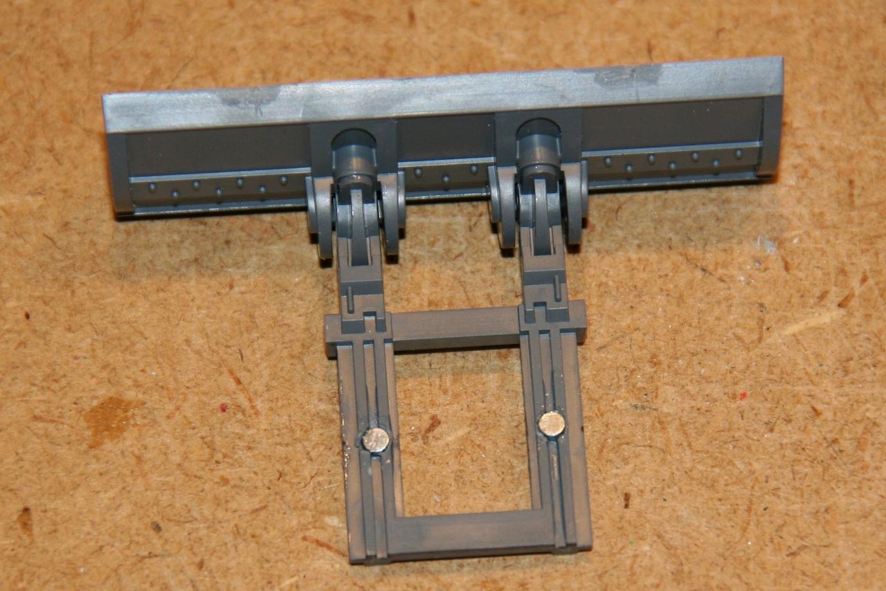 Magnetizing a Dozer Blade