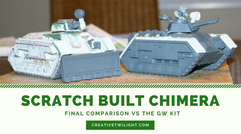 Scratch Built Chimera Done