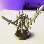 "Eldar Dark Reaper Conversions: Exarch ""Skeletor"""
