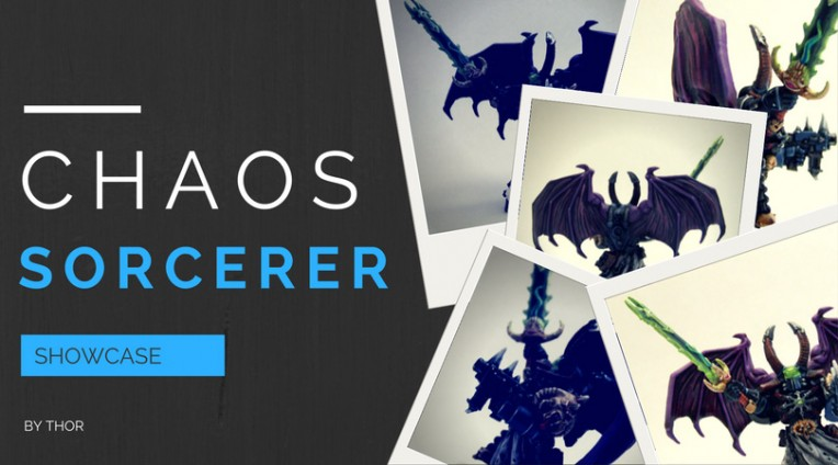 Chaos Sorcerer Painting Showcase