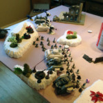 Chaos Space Marines vs Astra Militaru: Deployment #2