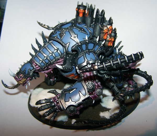 Maulerfiend and Forgefiend Painting Showcase for Chaos Marines