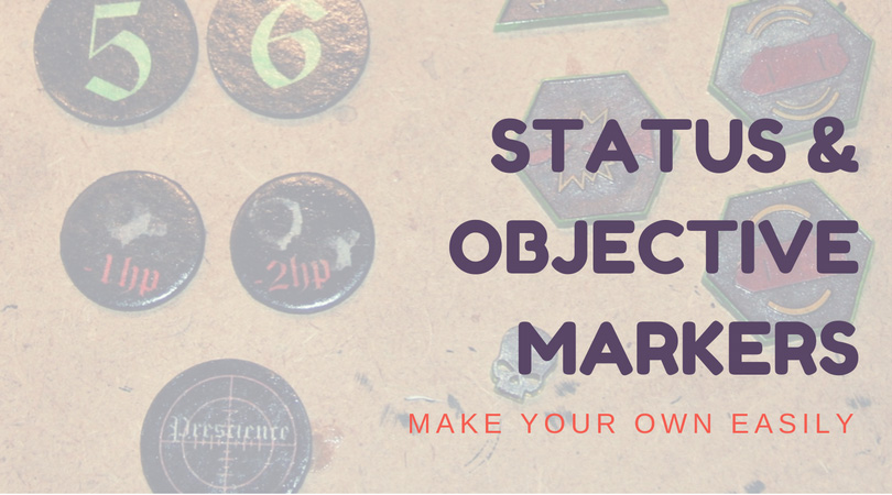 40K Status & Objective Markers