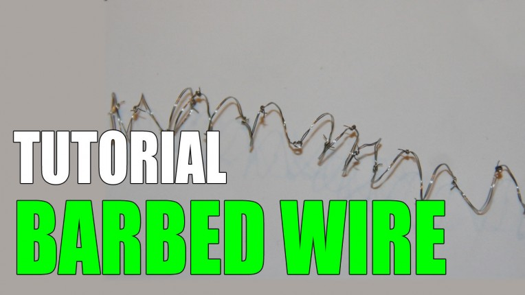 DIY Barbed Wire Tutorial