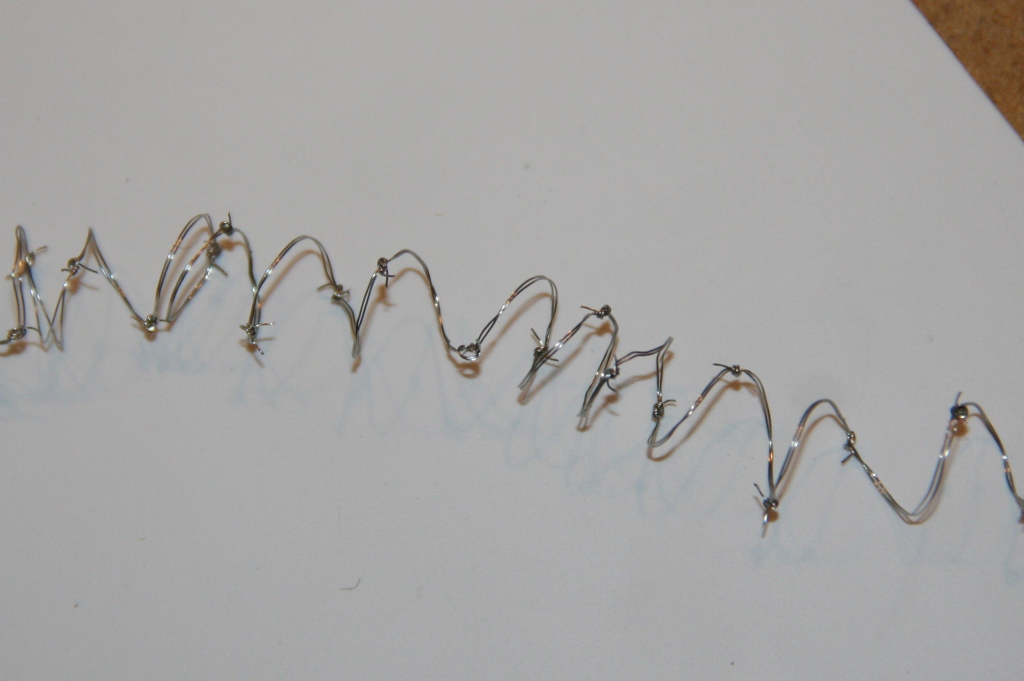 Curled DIY Barbed Wire