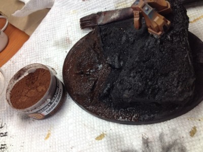 Pigments for Earth Basing #1