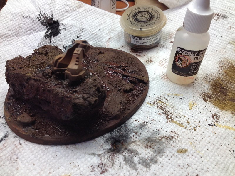 Pigments for Earth Basing #3