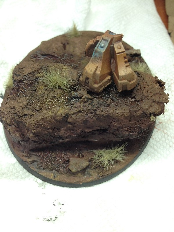 Highlighting the Earth Basing