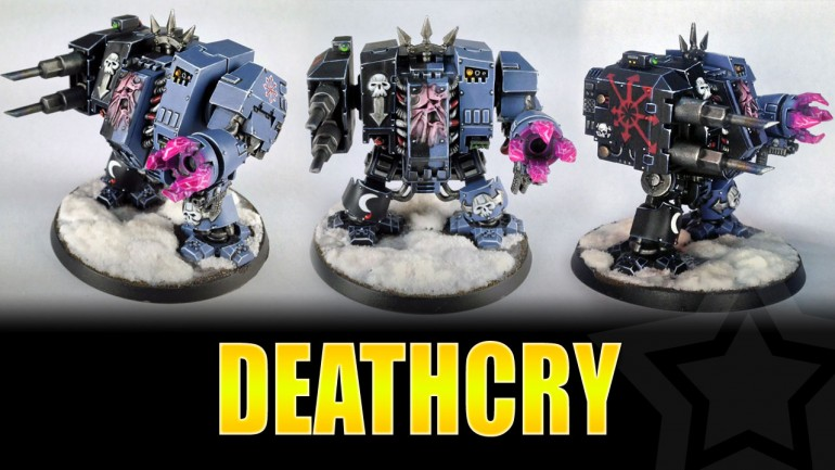 Deathcry Chaos Helbrute Painted