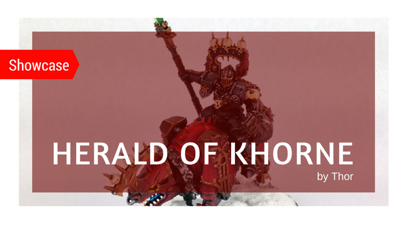 Herald of Khorne Painted