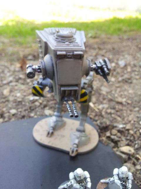 Stompy scout walker of doom