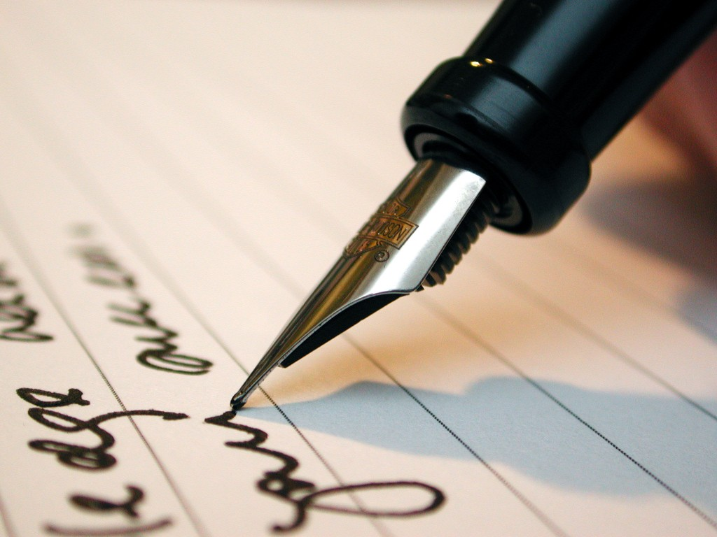 Handwriting Your List