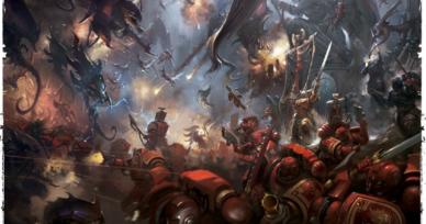 Blood Angels vs Tyranids