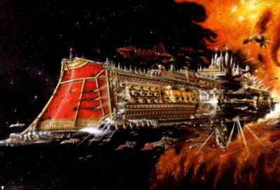War Among the Stars…Battlefleet Gothic!