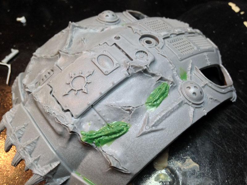 Chaos Knight Titan - Carapace Fixed #2