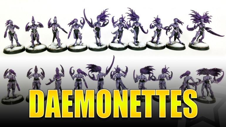 Daemonettes Painted