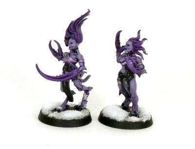 Daemonettes of Slaanesh: Showcase - Singles #2