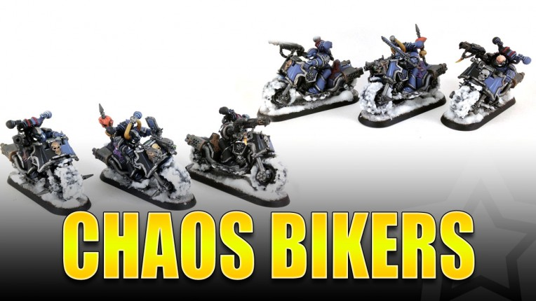 Chaos Bikers Painted