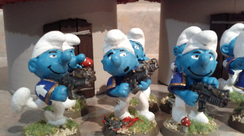Smurf Tactical Marines