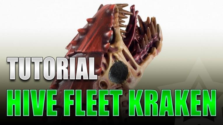 Painting Hive Fleet Kraken
