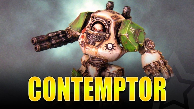Death Guard Contemptor Painted