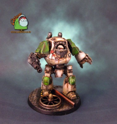 Death Guard Contemptor #2