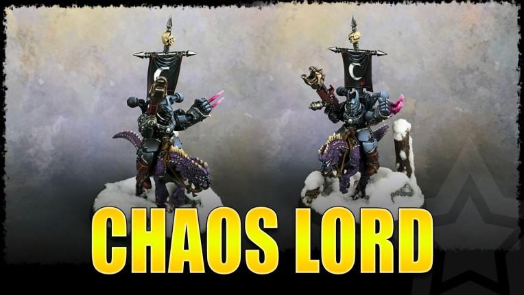 Chaos Lord on Steed of Slaanesh