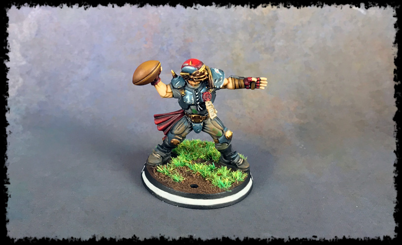 Painting Showcase: Human Thrower #1