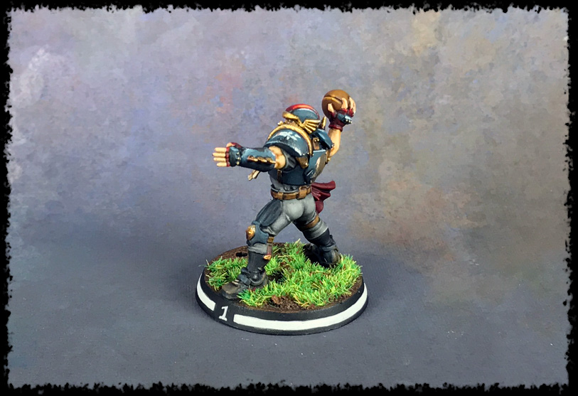 Painting Showcase: Human Thrower #3
