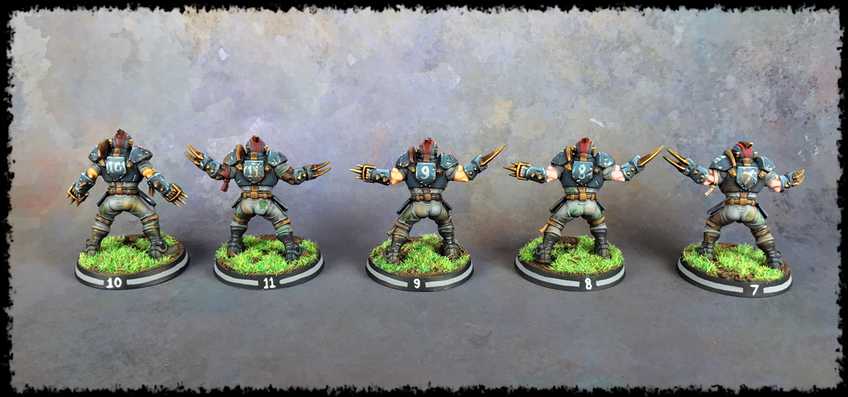 Painting Showcase: Human Linemen #3