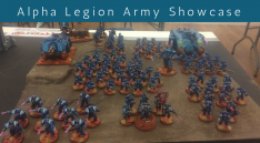 Alpha Legion Army Showcase