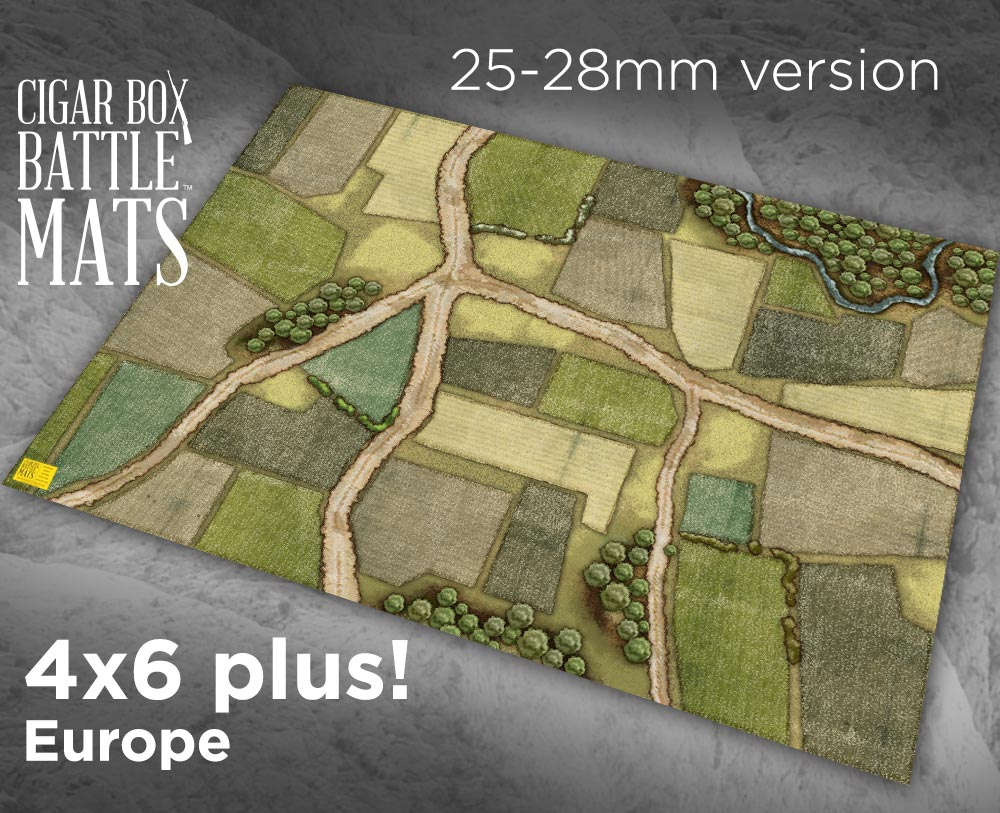 Cigar Box Battle Mats - Europe