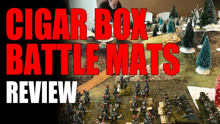 Cigar Box Battle Mats Review